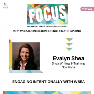 Evalyn Shea 2021 WBEA Business Conference and Matchmaking
