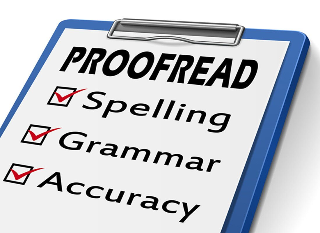 Proofreading & Editing Services - Shea Writing & Training